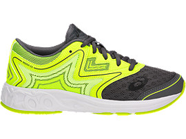 NOOSA GS FÜR KINDER, Carbon/Safety Yellow/Mid Grey