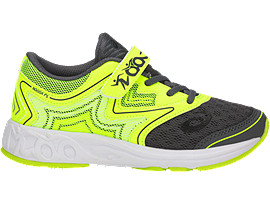 NOOSA PS, Carbon/Safety Yellow/Mid Grey