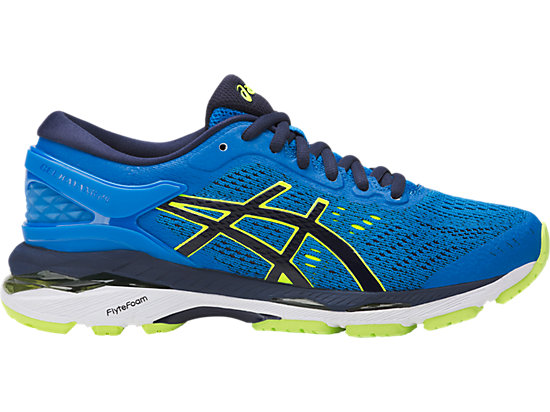 GEL-KAYANO 24 GS, Directoire Blue/Peacoat/Safety Yellow