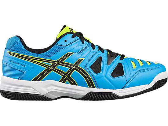GEL-PADEL TOP 2 SG, Diva Blue/Black/Safety Yellow