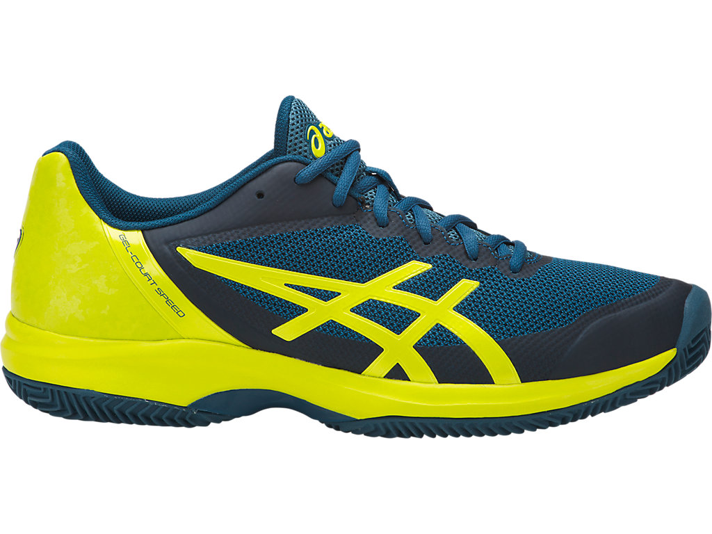 ASICS Gel - Court? Speed Clay Ink Blue / Sulphur Spring / Turkish Tile Hombre
