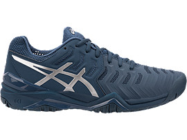 Men's GEL RESOLUTION NOVAK | PEACOATSILVER | Tennis | ASICS