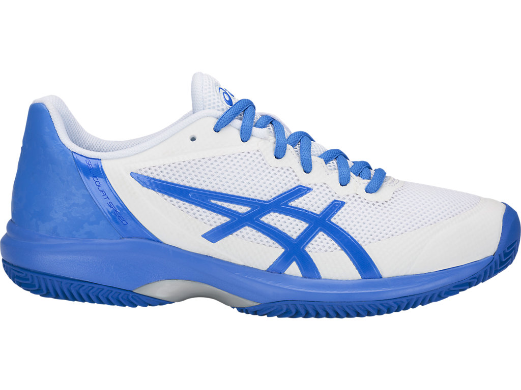 ASICS Gel - Court? Speed Clay White / Illusion Blue Mujer