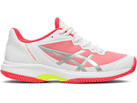 ASICS Gel - Court Speed Clay White / Laser Pink Mujer