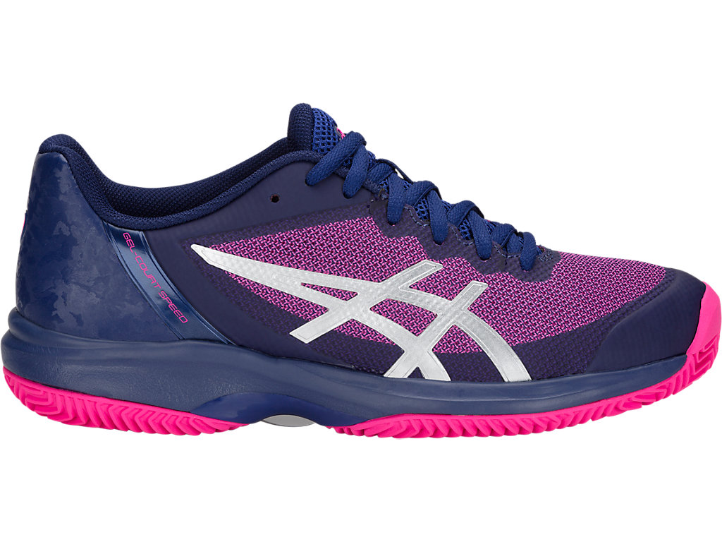 ASICS Gel - Court? Speed Clay Blue Print / Pink Glo Mujer
