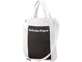 SHOPPING BAG, White/Logo Print