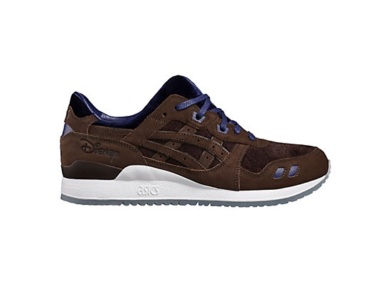 DISNEY GEL-LYTE III, Coffee Bean/Medieval Blue