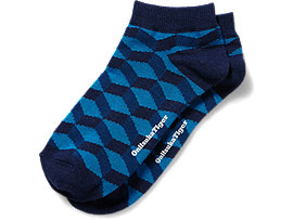 ANKLE SOCKS, Navy/Light Blue