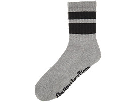 KURZE SOCKEN, HEATHER GREY