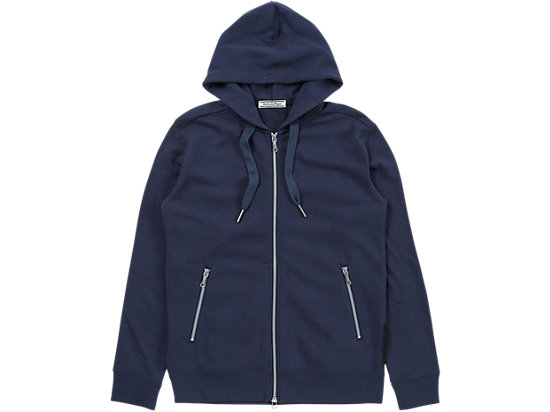 TRAININGS-HOODIE MIT REISSVERSCHLUSS, NAVY