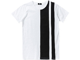 T-SHIRT, White/Black