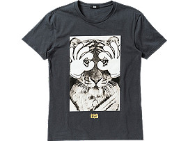 GRAPHIC T-SHIRT, Charcoal/A