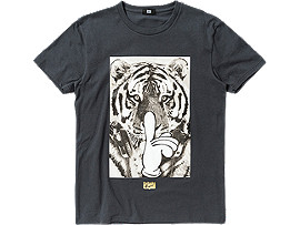 GRAPHIC T-SHIRT, Charcoal/B