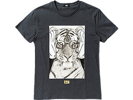 GRAPHIC T-SHIRT, Charcoal/C