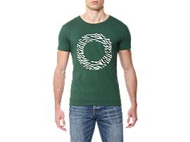 BEDRUKT T-SHIRT, Green/Print B