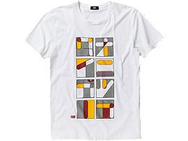 BEDRUKT T-SHIRT, White/Print B