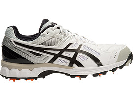 GEL-220 NOT OUT, White/Black/Silver
