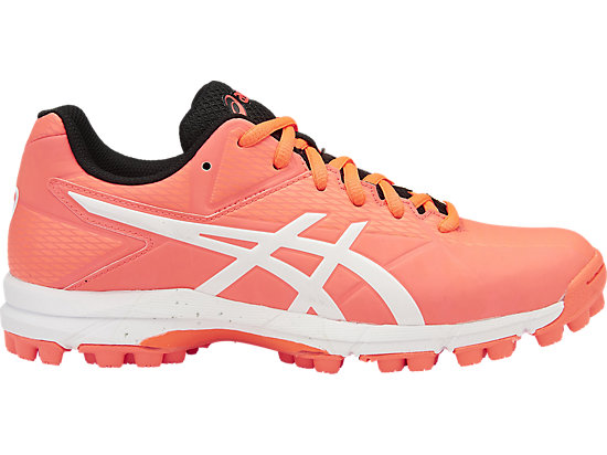 GEL-HOCKEY NEO 4, Flash Coral/White/Black