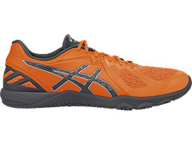 ZAPATILLA DE ENTRENAMIENTO CONVICTION X PARA HOMBRE, Shocking Orange/Carbon/Midgrey