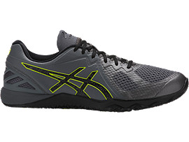 ZAPATILLA DE ENTRENAMIENTO CONVICTION X PARA HOMBRE, Carbon/Black/Energy Green