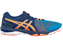 ZAPATILLA DE ENTRENAMIENTO GEL-CRAZE TR 4 PARA HOMBRE, Indigo Blue/Hot Orange/Imperial