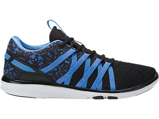GEL-FIT YUI, Black/Regatta Blue/Silver