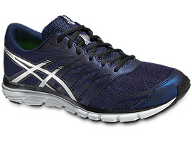 GEL-ZARACA 4, Indigo Blue/Silver/Black