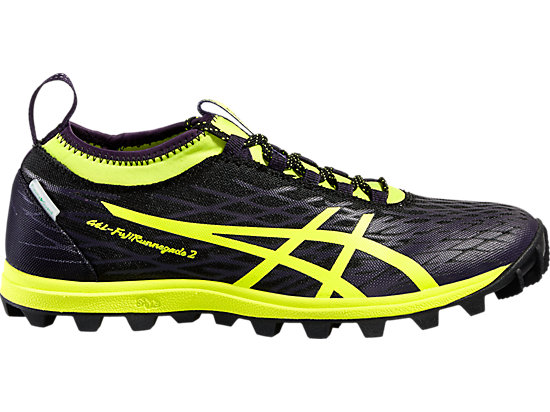 GEL-FUJIRUNNEGADE 2, Black/Safety Yellow/Infinity Purple