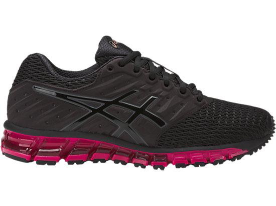GEL-QUANTUM 180 2, Black/Black/Cosmo Pink
