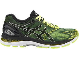 GEL-NIMBUS 19 VOOR HEREN, Black/Safety Yellow/Silver