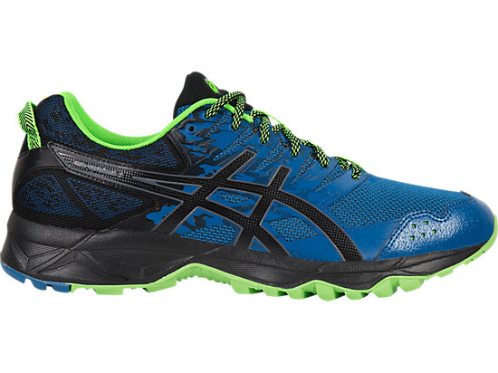 GEL-SONOMA 3 TRAILRUNNINGSCHOEN VOOR HEREN, Thunder Blue/Black/Green Gecko