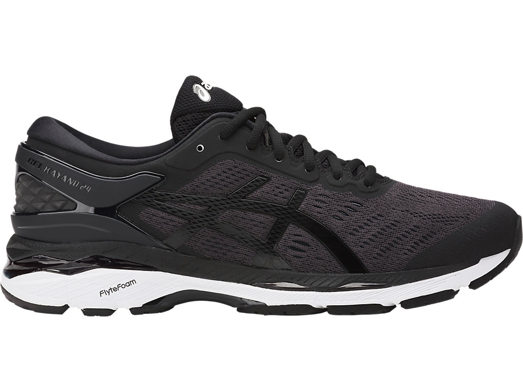 Asics Gel Kayano 24 Scarpe Uomo Black/Phantom/White