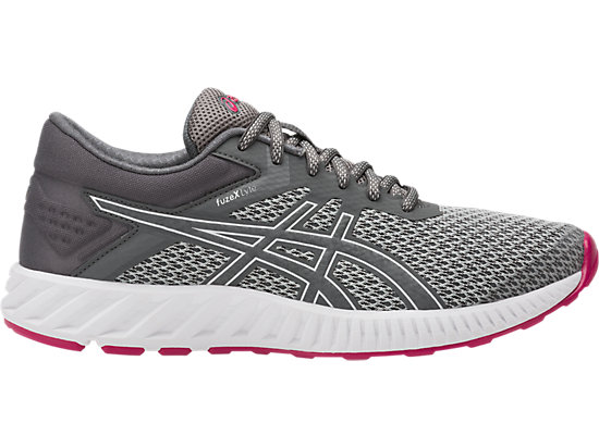 FUZEX LYTE 2 DA DONNA, Mid Grey/Carbon/Cosmo Pink