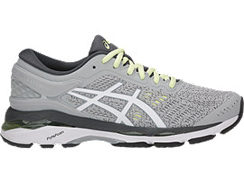 GEL-KAYANO 24, Glacier Grey/White/Carbon