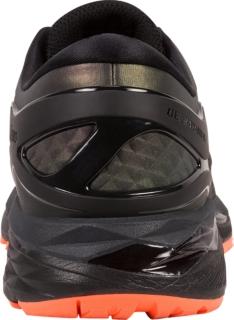 Kayano Gel Asics De Los Hombres De 24 Ls Zapatos Para Correr - Negro / Naranja L0gb41dyr