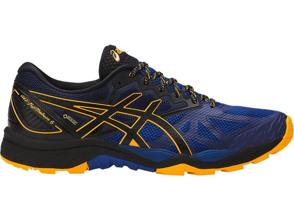 Running Shoes For Men Black Uq30008 Asics GelFujitrabuco 6