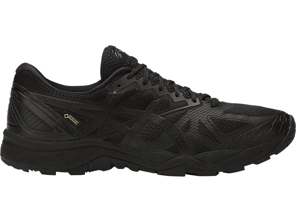 ASICS GEL FUJITRABUCO 6 G-TX - Trail running shoes - black/phantom eeQ0m