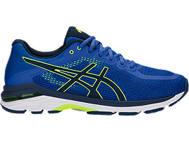 GEL-PURSUE 4, VICTORIA BLUE/DARK BLUE/SAFETY YELLOW