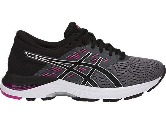 GEL-FLUX 5, CARBON/BLACK/FUCHSIA RED