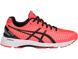 GEL-DS TRAINER 23, FLASH CORAL/BLACK/CORALICIOUS