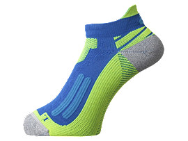 NIMBUS ST SOCK, A Blue/Safety Yellow