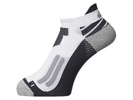 NIMBUS ST SOCK, Real White/Dark Grey