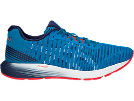 Right side view of DYNAFLYTE 3, RACE BLUE/WHITE