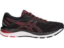 GEL-CUMULUS 20, BLACK/RED ALERT