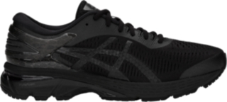 mens black asics running shoes