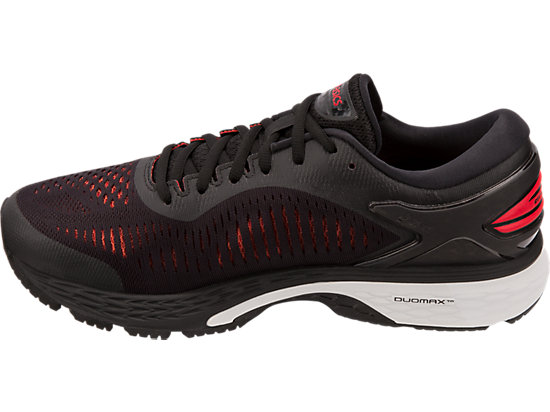 GEL-KAYANO 25 BLACK/CLASSIC RED