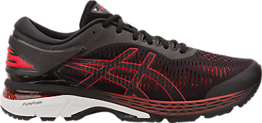 9397e04d3a88 GEL-Kayano 25 Black Classic Red 3 RT