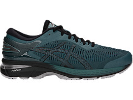 GEL-KAYANO 25, SILVER/DARK GREY