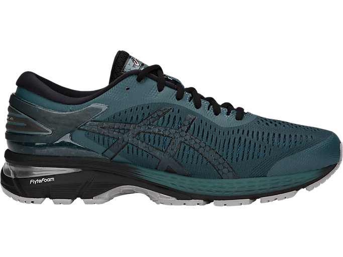 GEL-KAYANO 25, IRONCLAD/BLACK