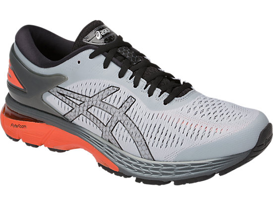 GEL-KAYANO 25 MID GREY/RED SNAPPER